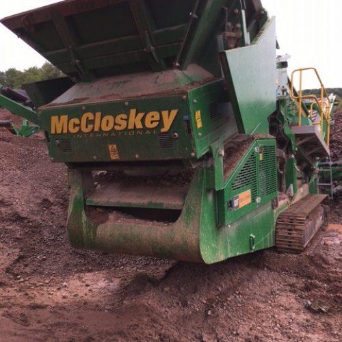 McCloskey R105 Screener 2017 700hrs