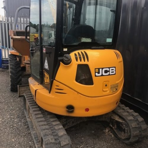 JCB 8025 ZTS 2013 1600hrs